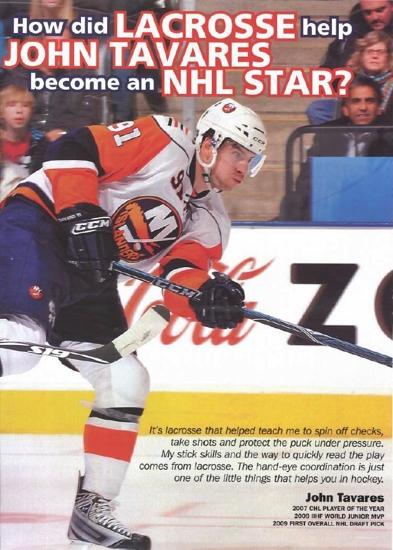NHL - Tavares - Lacrosse